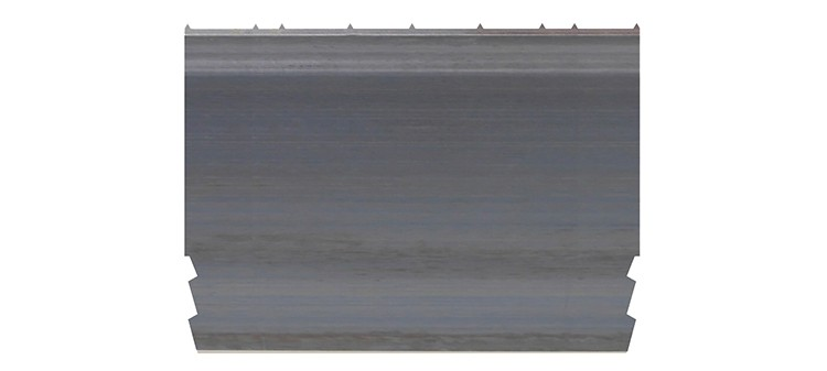 Ausbrechplatte mit Spitze, Stärke 3 pt., Höhe 50,9 mm, Breite 70 mm (VE = 100 St)