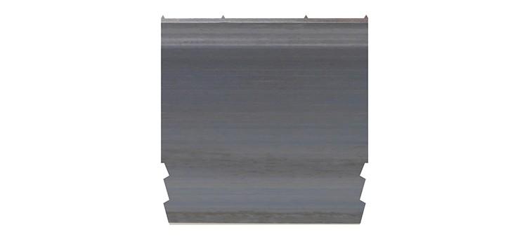 Ausbrechplatte mit Spitze, Stärke 3 pt., Höhe 50,9 mm, Breite 50 mm (VE = 200 St)