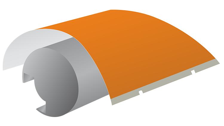 CITO Antimarkierplatte Koenig & Bauer Rapida 105/106 Lackturm 730 mm (796 × 1060 mm)