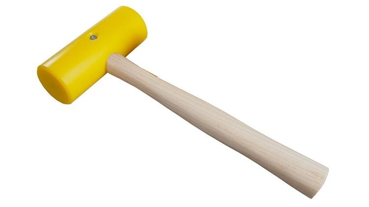 PU-Hammer Flachbett Ø 50 × 125 mm, 400 g