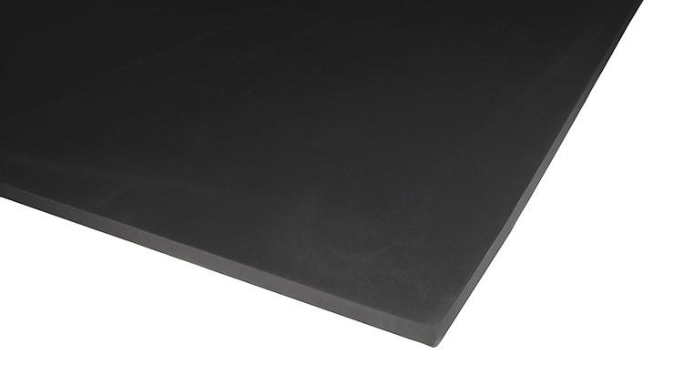 Cell Rubber EPDM, 500 × 990 × 12 mm, 1 × Haut