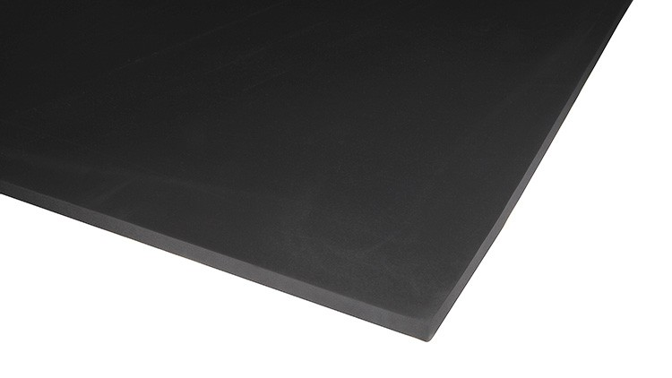 Cell Rubber EPDM, 1000 × 990 × 11 mm, 1 × Haut