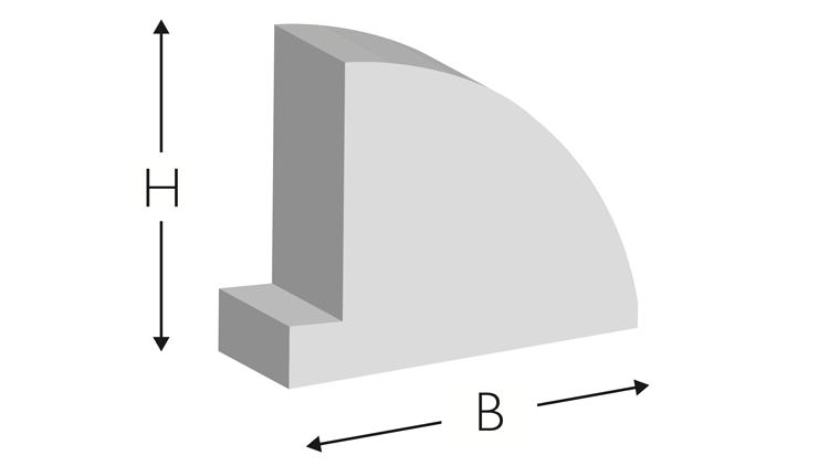 BLACK JACK EPDM 25, 700 × 9,3 × 7,6 mm
