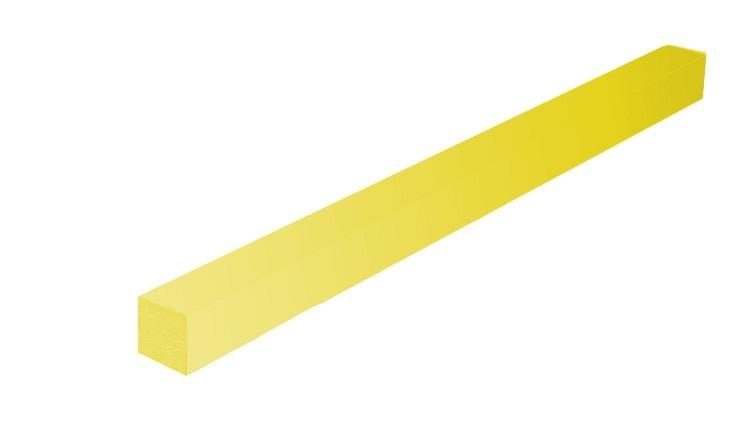CITOject F 25 GELB, EasyFix, 700 × 5 × 6 mm