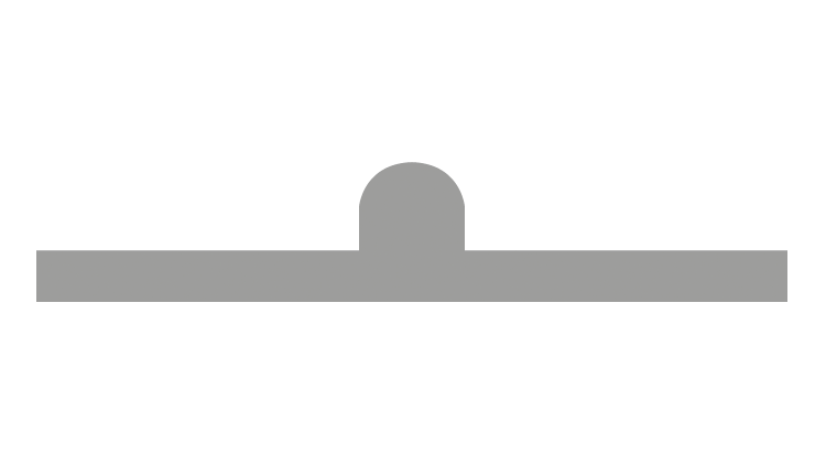 CITO PLAST Gegenriller Beige SB 0,3/1,5 mm 4 pt. (4,5 – 5,0 mm) 4P/45