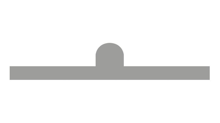 CITO PLAST Gegenriller Schwarz SB 0,7 6 pt (4,5 – 5,0 mm) 6P/45