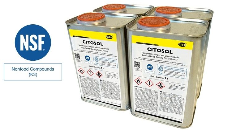 CITOSOL-Reinigungsmittel Karton/4 Dosen à 1 Liter