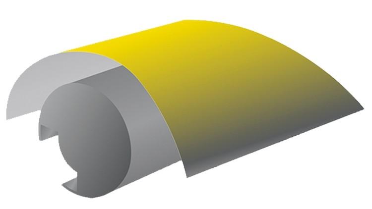 Farbabweisendes RSP Gegendruckschutzblech (1056 × 739 × 0,25 mm) Perfector - für Koenig & Bauer Silikonjackets Rapida 105/106
