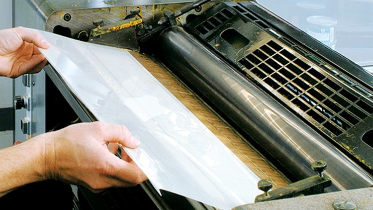 Farbkastenfolie HEIDELBERG GTO 52 / Printmaster GTO 52, 190 µm