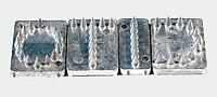 Spike M/W, mit Kerbe, Schrifthöhe 20 mm (VE = 25 Stück)