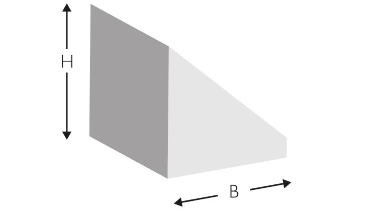 Kork-Profil A/1, 700 × 6 × 6 mm