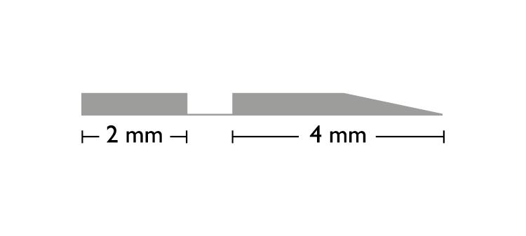 Off-Center OCC 0,3 × 1,3 × 700 mm