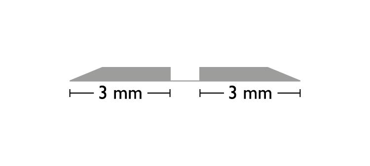 Standard ORS 0,3 × 0,8 × 700 mm