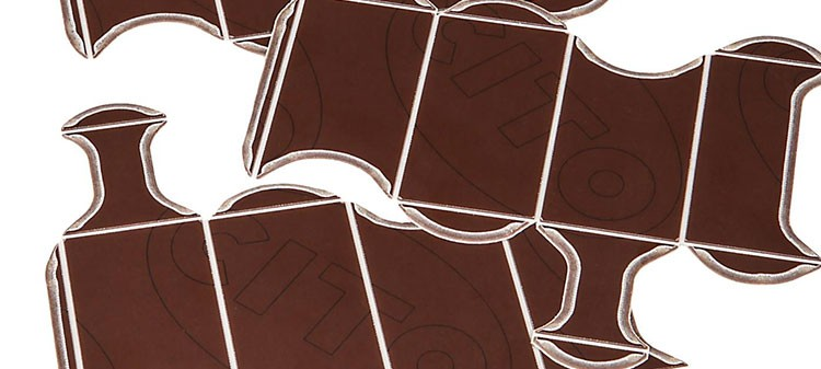 BROWN STANDARD 1070 × 1070 × 1,30 mm selbstklebend, BASIC