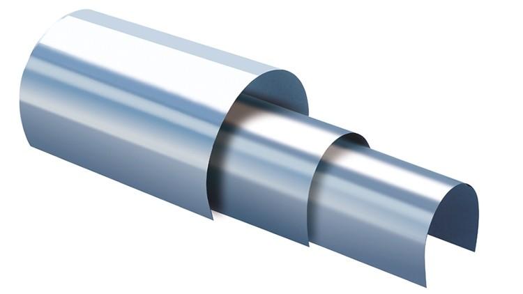 RSP Gegendruckschutzblech Streifen (mit Wendung) 703 × 65 mm Perfector